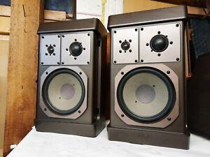 Guter Paar GRUNDIG M600 Vintage HiFi Stereo Design Lautsprecher/Speaker, RARITÄT