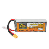 ZOP Power 11.1V 6500mAh 30C 3S XT60 Plug Lipo Battery RC Quadcopter Car