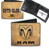 Dodge RAM Piston Logo Mopar Börse Wallet Kette Geldbörse Portemonnaie Kunstleder