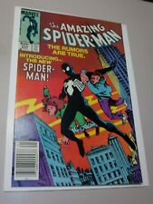 Amazing Spider-man #252 Newsstand Variant 1st Black Suit Very High Grade 9.6-9.8