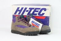 Vintage 90s New Hi Tec Youth 2 Topaz Jr Suede Leather Outdoor Trail Hiking Boots