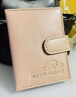 RFID Protected Genuine Leather Card Holder Notes Oyester Wallet Purse RRP £15