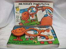 Vintage Mr Tickle's Drawing Machine 1970s Mr Men Toy ~ House Martin