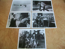 """Lot of 5 Italian movie The Lion of Thebes (from 1964) 8"""" x 10"""" b/w movie stills"""