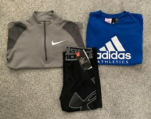 Boys Sports Clothes Bundle - Age 10-12 Years - Adidas, Nike & Under Armour - VGC