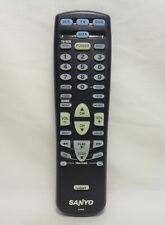 Sanyo FXRG Factory Original Back Lit Keypad TV Remote DS27910, DS35510