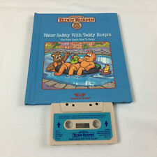 Vintage Teddy Ruxpin Lot Book & Cassette Water Safety
