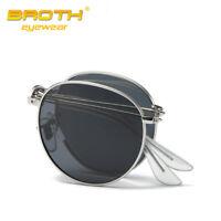 Men Women Folding Polarized Sunglasses HD Lens Eyewear Driving Glasses Goggles