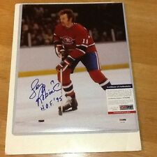 Larry Robinson Signed 11x14 Photo PSA DNA COA Autographed Montreal Canadiens b
