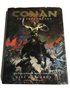 Conan the Phenomenon Dark Horse Deluxe Hardcover  Paul M Sammon