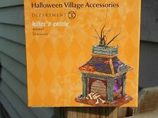 DEPT 56 HALLOWEEN VILLAGE Accessories KILLER'S CASTLE NIB (B)