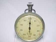 ANTIQUE SMITHS MILITARY STOP WATCH  WORKING