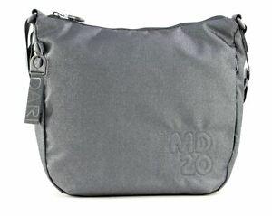 MANDARINA DUCK MD20 Lux Crossover Umhängetasche Tasche Lead Grau