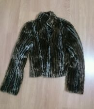 Per una ladies faux fur coat size 6 new no tags