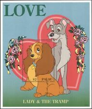 Palau 1996 Disney/Sweethearts/Lady/Tramp/Cartoons/Animation/Films 1v m/s  ad1101