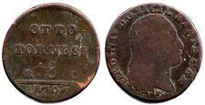 Napoli, Ferdinando IV di Borbone, 8 Tornesi 1797.MB#Z 412 /