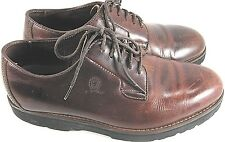Tommy Hilfiger Genuine Leather Men Oxford Shoes Size 10 M Brown Style M14440