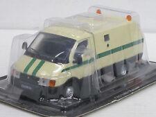 Wolga GAZ 3302 Geldtransporter-- creme- 1/43--IXO/IST/Kultowe Auta PRL--NEU--OVP