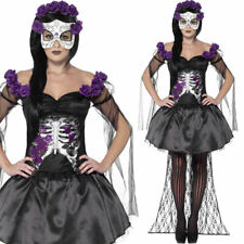 Black Senorita Tutu Style Dress Fancy Dress Costume