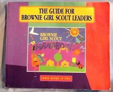 GUIDE for Brownie Girl Scout LEADERS 3 Books in 1, Try-it Requirements Research