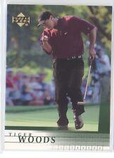 TIGER WOODS 2001 UPPER DECK UD GOLF #1 ROOKIE RC STANFORD MASTERS NRMT+