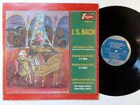 9198) LP - Bach - Violin Concerto - Lautenbacher - Galling - Turnabout -