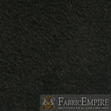 """JET BLACK Synergy Suede Headliner Upholstery Fabric 1/8 Foam Backed 60""""W BTY"""