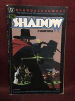 The Shadow Blood & Judgment Paperback Howard Chaykin DC Comics