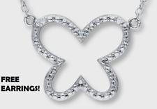 Kay Jewelers Diamond Butterfly Necklace, Beautiful Earrings Jared Zales Gift