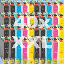 40 cartuchos tinta Non-Oem XL para Epson bx925fwd bx935fwd bx535wd sx235w sx620f