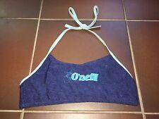 Mädchen Bikini Badeoberteil BH Top blau Jeanslook Neckholder Gr. 164 von O'Neill