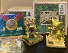Real Musgrave *Signed* Pocket Dragons *Mib* The Winner (w/ Coins) & The Scholar
