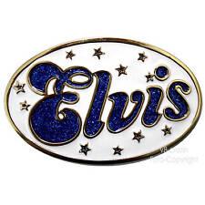 Elvis Buckle Gürtelschnalle Rockabilly Rock`n Roll 50er Beltbuckle *049