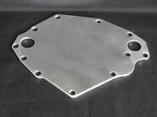 CLEVELAND ALUMINIUM ELECTRIC WATER PUMP BLOCK OFF PLATE POLISHED