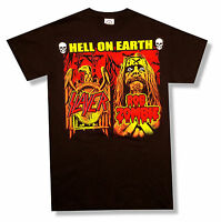 Slayer Rob Zombie Hell On Earth 2011 USA Cdn Tour Black T Shirt New All Sizes