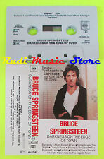 MC BRUCE SPRINGSTEEN Darkness on the edge of town 1976 holland CBS cd lp dvd vhs