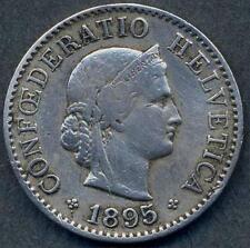 SWITZERLAND 5 Rappen 1895