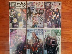 GEN 13 #0-#4 SET Lot CHRIS CLAREMONT, WILDSTORM COMICS Manga style #1 #2 #3