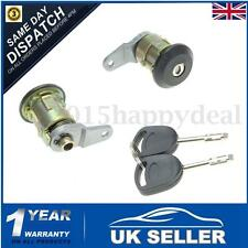 2x Front Door Lock Barrel Keys Set For Ford Fiesta 95-02 KA 96-08 Courier Escort