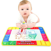 Baby Kids Magic Water Pen Drawing Painting Writing Mat Child Educational Toy