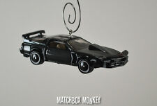 Knight Rider KITT Car Super Pursuit Mode Custom Christmas Ornament Industries 2K