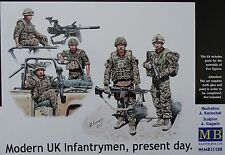 MASTER BOX™ 35180 Modern UK Infanterymen, Present Day FIGUREN in 1:35