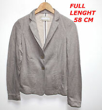 FABIANA FILIPPI WOMAN LADY JACKET BEIGE/CREAM COLOR MARKED SIZE L MADE IN ITALY