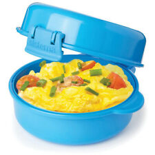Sistema Microwave Easy Eggs Cooker Quick Poacher Omelet Egg Muffin Maker & More