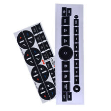 For GM GMC Car Interior Radio+ A/C Climate Control Button Repair Decals Stickers