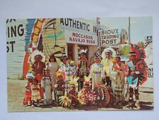 OGALLALA NEBRASKA USA Sioux Indians post old postcard