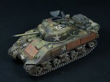 M4 Sherman Tank Early Production 1/35 Built and Painted