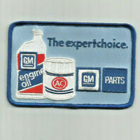 The expert chice GM parts employee advertising patch 2-7/8 X 4-3/8 #6209