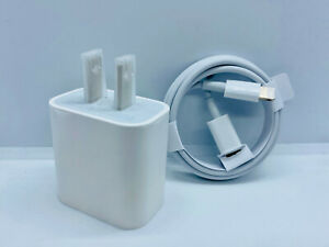 Premium Quality 18W Fast Charge USB-C Power Adapter Cable for iPhone 12 11 Pro