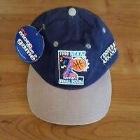1998 NCAA Women's Final Four Basketball Hat Blue Strapback Cap Kansas City READ
